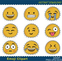 Feelings clipart digital