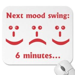Feelings clipart mood swing