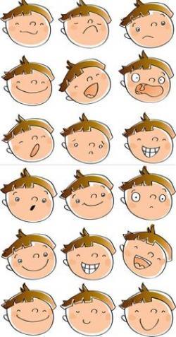 Feelings clipart student face