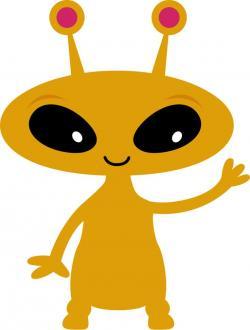 Universe clipart space alien