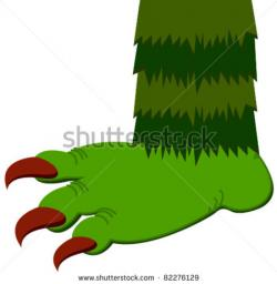 Legs clipart monster