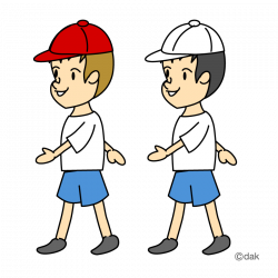 Feet clipart boy walk