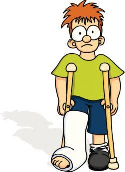 Legs clipart broke