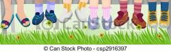 Feet clipart children's