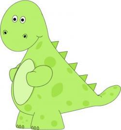 Ferocious clipart dinosour