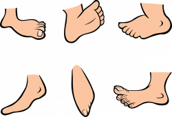 Barefoot clipart foot stomping