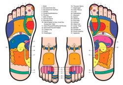 Feet clipart foot massage