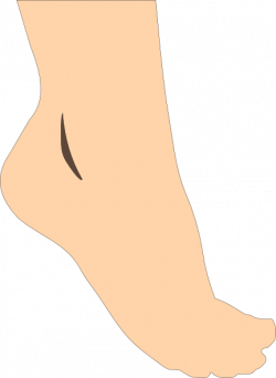 Heels clipart left foot