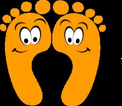 Feet clipart funny cartoon