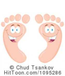 Feet clipart happy foot