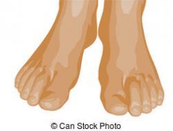 Feet clipart human