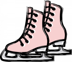 Feet clipart ice skating
