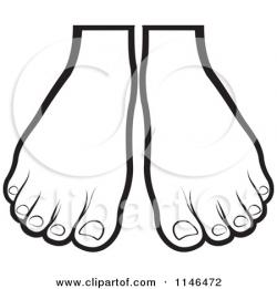 Feet clipart pair feet