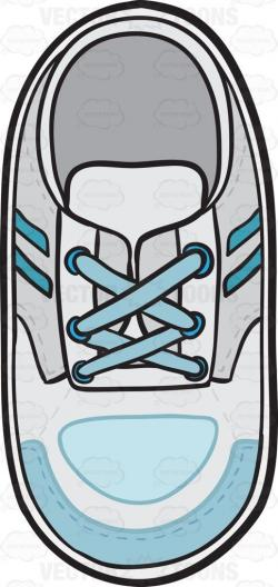 Gym-shoes clipart shoelace