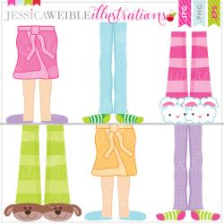 Feet clipart pajama