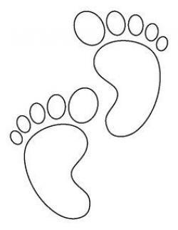 Feet clipart printable