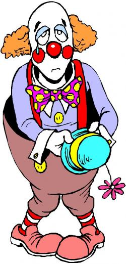 Clown clipart cartoon