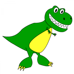Drawn tyrannosaurus rex cartoon