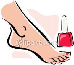 Poland clipart toenail