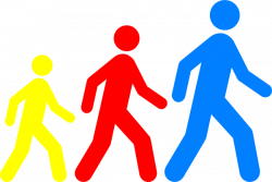Feet clipart walking club