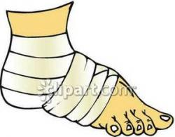 Feet clipart wrapped