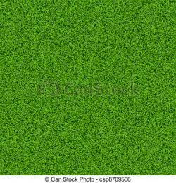 Drawn lawn grass field