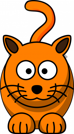 Tabby Cat clipart caricature