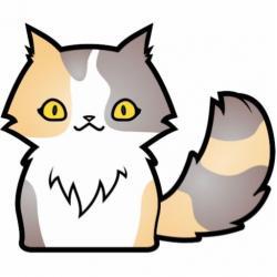 Calico Cat clipart cute cat