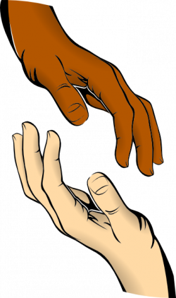 Hand clipart touch