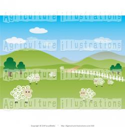 Farmland clipart front yard