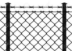 Prison clipart fence