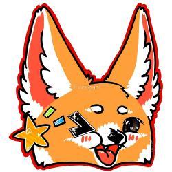 Fennec Fox clipart