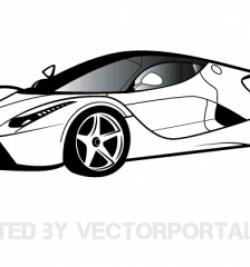 Ferrari clipart bugatti