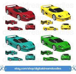 Ferrari clipart car toy