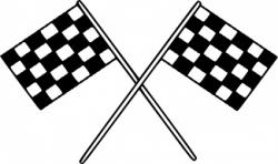 Ferrari clipart flag