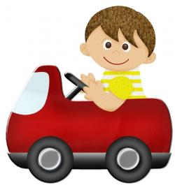 Ferrari clipart kid car