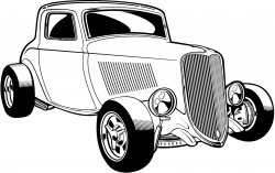 Ford clipart street rod