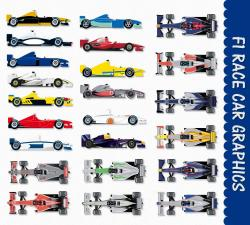 Formula One clipart cute