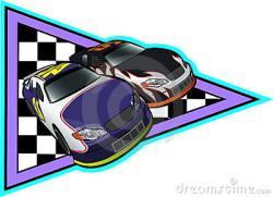 Race clipart nascar
