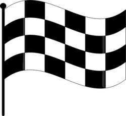 Check clipart finish line banner