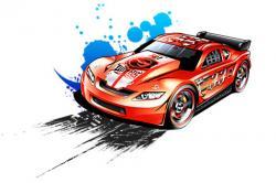 Hot Wheels clipart cartoon