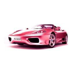 Ferrari clipart pink