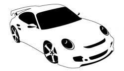 Ferrari clipart porsche