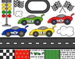 Ferrari clipart racetrack