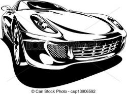 Exotic clipart black and white