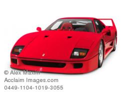 Ferrari clipart sports car