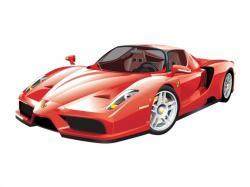 Ferrari clipart vector