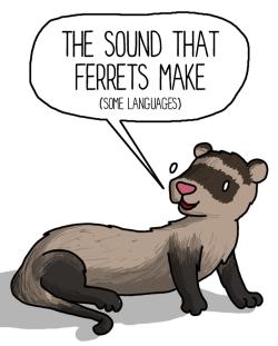 Drawn ferret pixel