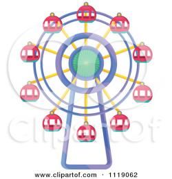 Ferris Wheel clipart carnival ride