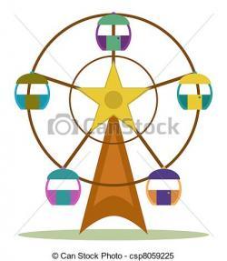 Ferris Wheel clipart carriage